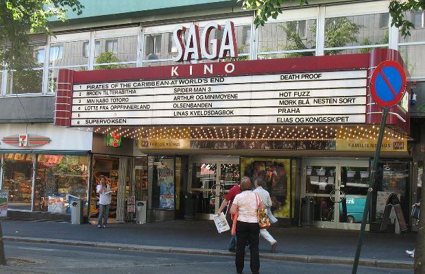 Saga kino, Oslo (foto: Wikimedia/Kjetil Ree)