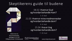 AVLYST 21/3--- Skeptikerens guide til budene